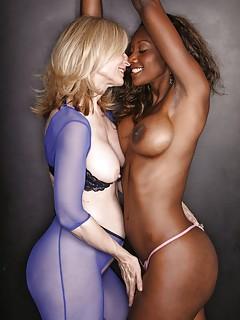 Interracial Lesbians Porn