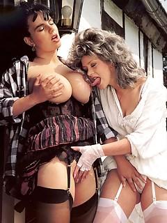 Vintage Lesbians Porn